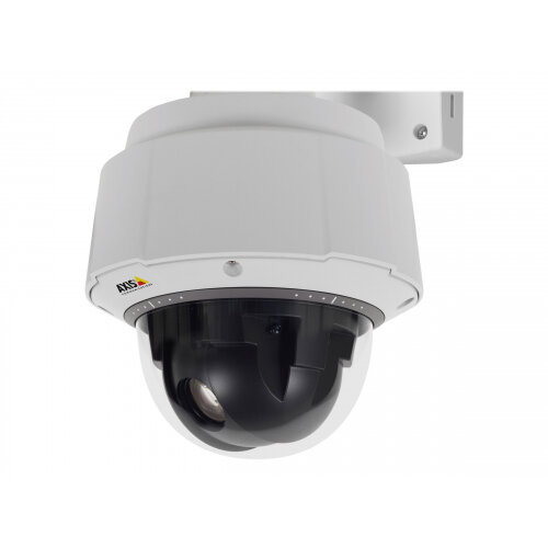 AXIS Q6055-E PTZ Dome Network Camera 50Hz - Network surveillance camera - PTZ - outdoor - vandal / weatherproof - colour (Day&ight) - 1920 x 1080 - 720p, 1080p - auto iris - motorized - LAN 10/100 - MPEG-4, MJPEG, H.264 - High PoE