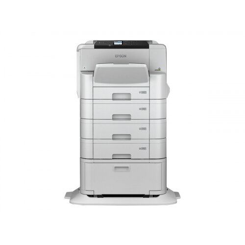 Epson WorkForce Pro WF-C8190DTWC - Printer - colour - Duplex - ink-jet - A3 - 4800 x 1200 dpi - up to 35 ppm (mono) / up to 35 ppm (colour) - capacity: 835 sheets - Gigabit LAN, NFC, USB 3.0, USB 2.0 host, Wi-Fi(ac)