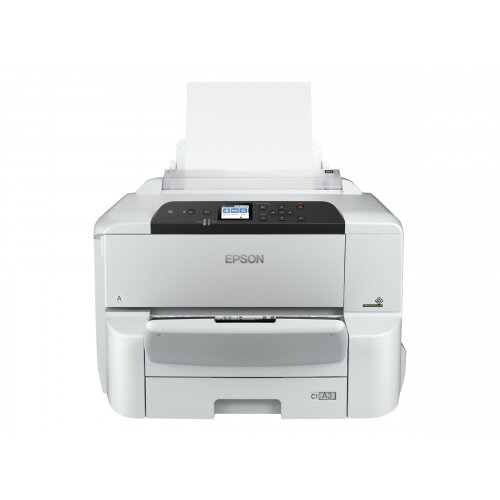 Epson WorkForce Pro WF-C8190DW - Printer - colour - Duplex - ink-jet - A3 - 4800 x 1200 dpi - up to 35 ppm (mono) / up to 35 ppm (colour) - capacity: 335 sheets - Gigabit LAN, NFC, USB 3.0, USB 2.0 host, Wi-Fi(ac)