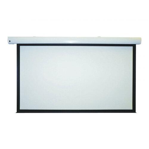 Metroplan Eyeline Pro - Projection screen - ceiling mountable, wall mountable - motorised - 120 in (305 cm) - 16:9 - Matte White - white