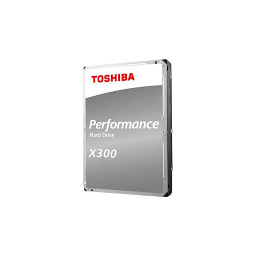 "Toshiba X300 Performance - Hard drive - 4 TB - internal - 3.5"" - SATA 6Gb/s - 7200 rpm - buffer: 128 MB"