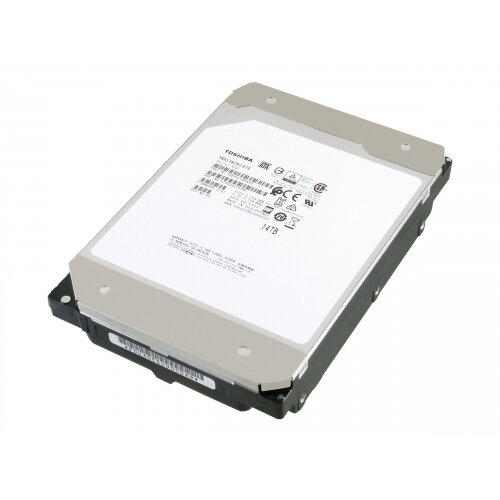 "Toshiba Enterprise Capacity MG07ACAxxx Series MG07ACA14TE - Hard drive - 14 TB - internal - 3.5"" - SATA 6Gb/s - NL - 7200 rpm - buffer: 256 MB"