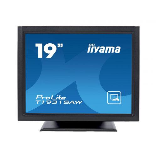 "Iiyama ProLite T1931SAW-B5 - LED monitor - 19"" - touchscreen - 1280 x 1024 - TN - 250 cd/m² - 1000:1 - 5 ms - HDMI, VGA, DisplayPort - speakers - black, matte"