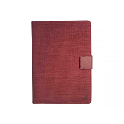 techair Universal - Flip cover for tablet - textured polyester - heather