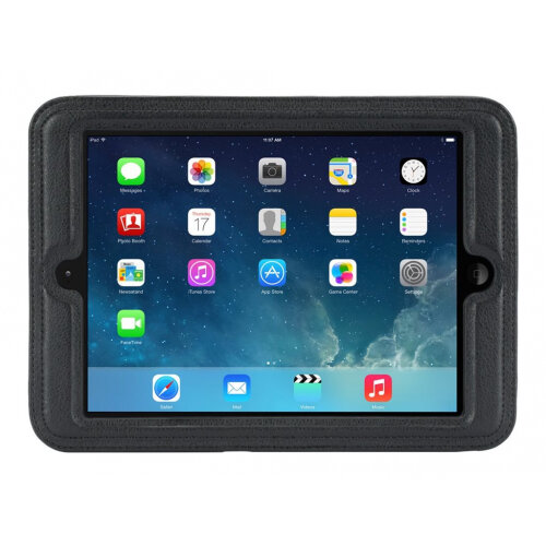 Griffin CinemaSeat - Back cover for tablet - black - for Apple iPad Air