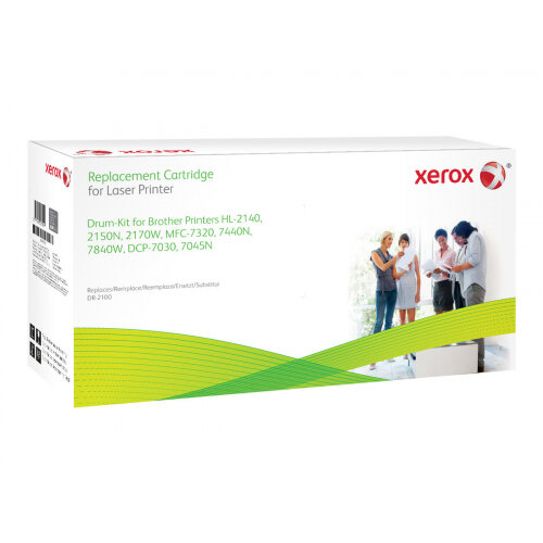 Xerox Brother HL-2140/HL-2150N/HL-2170W - Black - drum kit (alternative for: Brother DR2100) - for Brother DCP-7030, 7040, 7045, HL-2140, 2150, 2170, MFC-7320, 7440, 7840; Justio DCP-7040