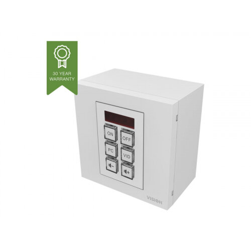 Vision Techconnect TC3-CTL - Wall module remote control - 6 buttons - cable/infrared
