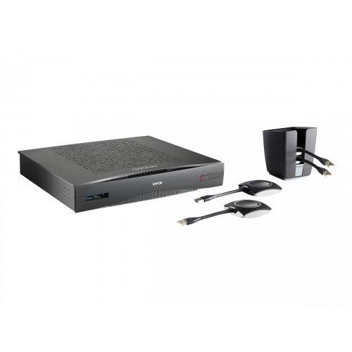 Barco ClickShare CSE-800 Wireless Presentation System - Presentation server - 10Mb LAN - Wi-Fi - Dual Band
