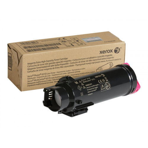 Xerox WorkCentre 6515 - Extra High Capacity - magenta - original - toner cartridge - for Phaser 6510; WorkCentre 6510, 6515
