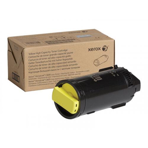 Xerox - High capacity - yellow - original - toner cartridge - for VersaLink C600, C605