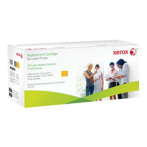 Xerox HP Colour LaserJet CP5225 - Yellow - toner cartridge (alternative for: HP CE272A) - for HP Color LaserJet Enterprise CP5520, CP5525, M750