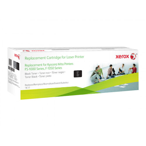 Xerox Kyocera FS-1000/1010 - Black - toner cartridge (alternative for: Kyocera TK-17) - for Kyocera FS-1000, 1000+N100, 1010, 1010N100, 1050