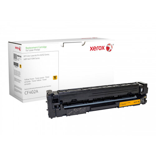 Xerox HP Colour LaserJet Pro M252 - Yellow - toner cartridge (alternative for: HP 201A) - for HP Color LaserJet Pro M252dn, M252dw, M252n, MFP M274n, MFP M277c6, MFP M277dw, MFP M277n