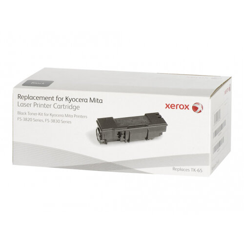 Xerox Kyocera FS-3820/3820N/3820DN - Black - toner cartridge (alternative for: Kyocera TK-65) - for Kyocera FS-3820, 3830