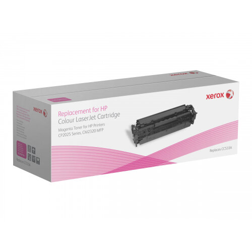 Xerox HP Colour LaserJet CM2320 MFP series - Magenta - toner cartridge (alternative for: HP CC533A) - for HP Color LaserJet CM2320fxi, CM2320n, CM2320nf, CP2025, CP2025dn, CP2025n, CP2025x