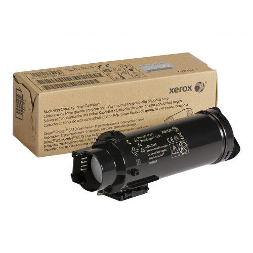 Xerox WorkCentre 6515 - High capacity - black - original - toner cartridge - for Phaser 6510; WorkCentre 6510, 6515