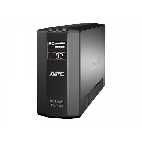 APC Back-UPS RS LCD 700 Master Control - UPS - AC 120 V - 450 Watt - 700 VA - USB - output connectors: 6 - black