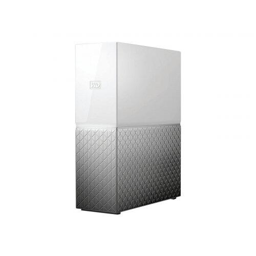 WD My Cloud Home WDBVXC0040HWT - Personal cloud storage device - 4 TB - HDD 4 TB x 1 - RAM 1 GB - Gigabit Ethernet