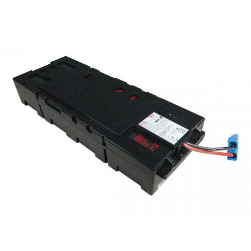 APC Replacement Battery Cartridge #115 - UPS battery - 1 x Lead Acid - black - for Smart-UPS X 1500 Rack/Tower LCD, 1500VA Rack/Tower LCD bundled