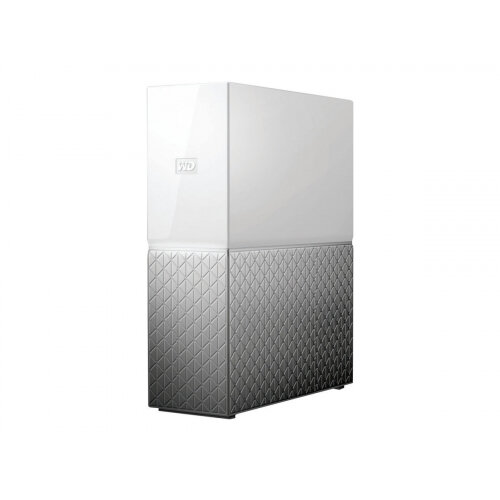 WD My Cloud Home WDBVXC0060HWT - Personal cloud storage device - 6 TB - HDD 6 TB x 1 - RAM 1 GB - Gigabit Ethernet