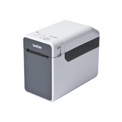 Brother TD-2020 - Label printer - thermal paper - Roll (6.3 cm) - 203 dpi - up to 152.4 mm/sec - USB 2.0, serial