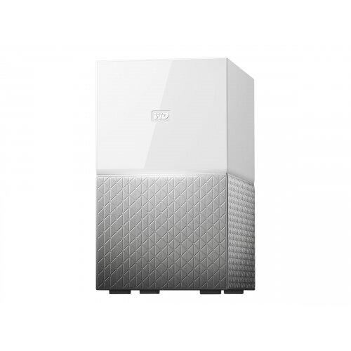 WD My Cloud Home Duo WDBMUT0040JWT - Personal cloud storage device - 4 TB - HDD 2 TB x 2 - Gigabit Ethernet