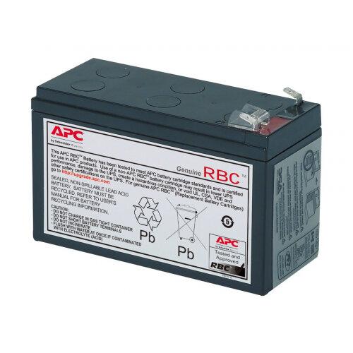APC Replacement Battery Cartridge #17 - UPS battery Lead Acid - for P/N: 515-970, BE650G, BE650Y-IN, BE700-AZ, BE700-CP, BE700-RS, BE750G, BE750G-CN, BN700MC