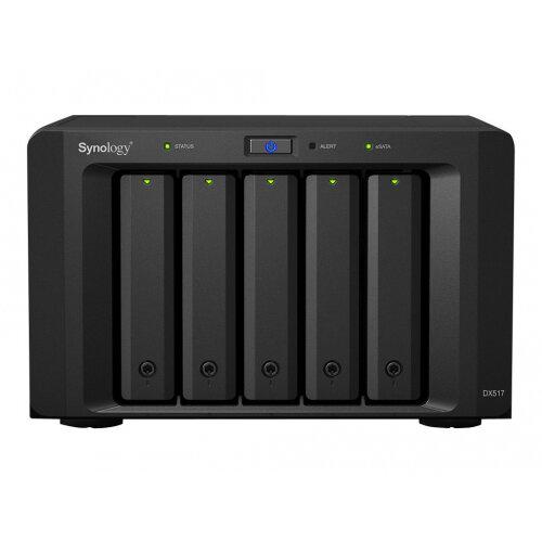 Synology DX517 - Storage enclosure - 5 bays