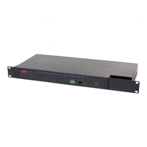 APC KVM 2G Analog - KVM switch - CAT5 - 16 x KVM port(s) - 1 local user - rack-mountable