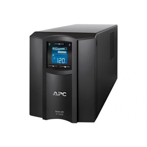 APC Smart-UPS C 1500VA LCD - UPS - AC 230 V - 900 Watt - 1500 VA - USB - output connectors: 8 - black - with APC SmartConnect