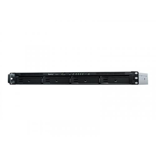 Synology RX418 Expansion Unit - Storage enclosure - 4 bays (SATA-600) - rack-mountable - 1U