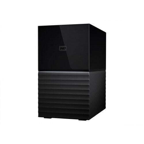 WD My Book Duo WDBFBE0160JBK - Hard drive array - 16 TB - 2 bays - HDD 8 TB x 2 - USB 3.1 (external)