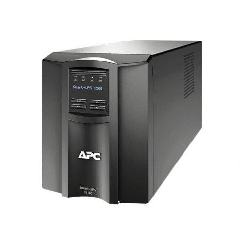 APC Smart-UPS SMT1500IC - UPS - AC 220/230/240 V - 1000 Watt - 1500 VA - RS-232, USB - output connectors: 8 - black - with APC SmartConnect