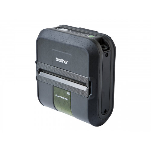 Brother RuggedJet RJ-4030 - Label printer - thermal paper - Roll (11.8 cm) - 203 dpi - up to 127 mm/sec - USB, serial, Bluetooth 2.0 EDR
