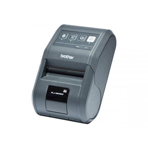 Brother RJ-3050 - Label printer - thermal paper - Roll (8 cm) - 203 dpi - up to 127 mm/sec - USB 2.0, serial, Wi-Fi(n), Bluetooth 2.1 EDR