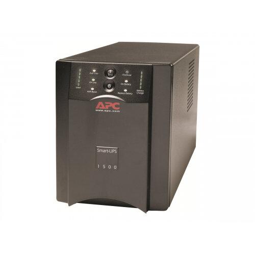 APC Smart-UPS 1500VA USB &Serial - UPS - AC 230 V - 1500 VA - RS-232, USB - output connectors: 8 - black