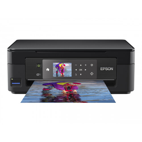 Epson Expression Home XP-452 - Multifunction printer - colour - ink-jet - A4/Legal (media) - up to 33 ppm (printing) - 100 sheets - USB, Wi-Fi - black