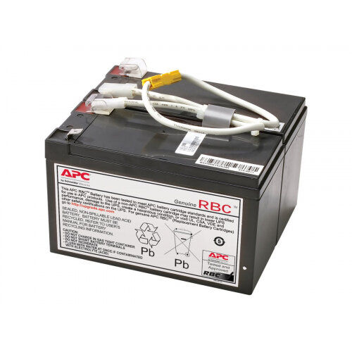 APC Replacement Battery Cartridge #109 - UPS battery - 1 x Lead Acid - charcoal - for P/N: BN1250LCD, BR1200LCDI, BR1500LCDI, BX1300LCD, BX1500LCD