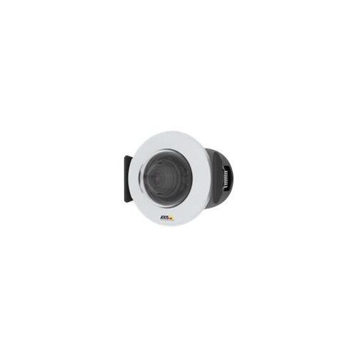 AXIS M3015 Network Camera - Network surveillance camera - dome - colour - 2 MP - 1920 x 1080 - 1080p - fixed iris - fixed focal - LAN 10/100 - MJPEG, H.264, H.265, MPEG-4 AVC - PoE Plus