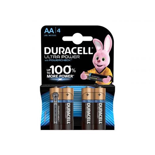 Duracell Ultra Power MX1500B4 - Battery 4 x AA type - Alkaline