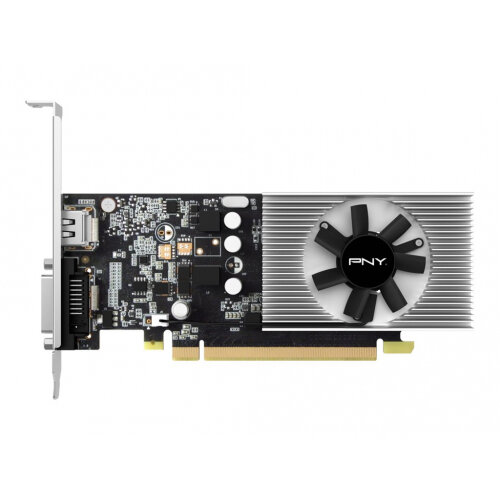 PNY GeForce GT 1030 - Graphics card - GF GT 1030 - 2 GB GDDR5 - PCIe 3.0 x4 low profile - DVI, HDMI