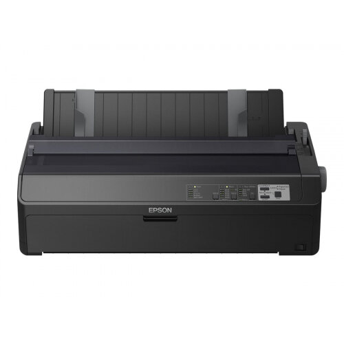 Epson FX 2190IIN - Printer - monochrome - dot-matrix - Roll (21.6 cm), 406.4 mm (width), 420 x 364 mm - 240 x 144 dpi - 9 pin - up to 738 char/sec - parallel, USB 2.0, LAN, serial