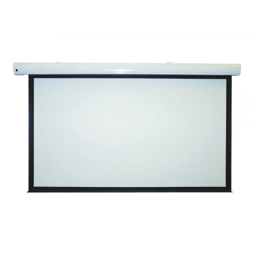 Metroplan Eyeline Pro - Projection screen - ceiling mountable, wall mountable - motorised - 79 in (201 cm) - 16:10 - Matte White - white powder coat