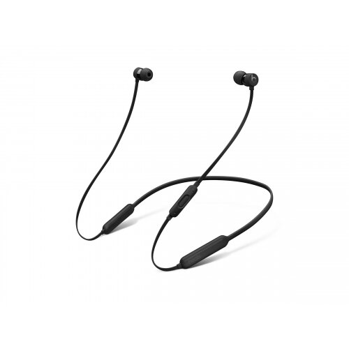 Beats X - Earphones with mic - in-ear - Bluetooth - wireless - noise isolating - black - for iPad/iPhone/iPod