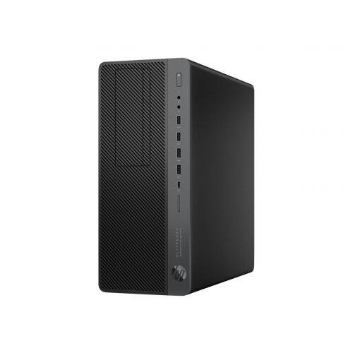 HP EliteDesk 800 G4 - Workstation - tower - 1 x Core i7 8700 / 3.2 GHz - RAM 16 GB - SSD 256 GB - NVMe - DVD-Writer - Quadro P400 / UHD Graphics 630 - GigE - Win 10 Pro 64-bit - vPro - monitor: none - keyboard: UK