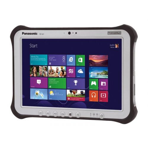 Panasonic Toughpad FZ-G1 - Tablet - Core i5 7300U / 2.6 GHz - Win 10 Pro 64-bit - 8 GB RAM - 256 GB SSD - 10.1&uot; IPSa touchscreen 1920 x 1200 - HD Graphics 620 - Wi-Fi, Bluetooth - rugged