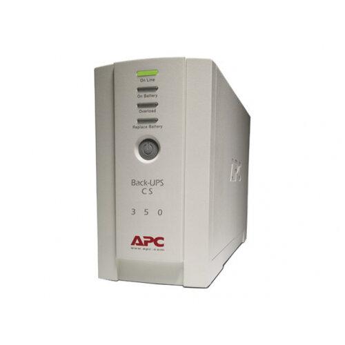 APC Back-UPS CS 350 - UPS - AC 120 V - 210 Watt - 350 VA - USB - output connectors: 6 - beige