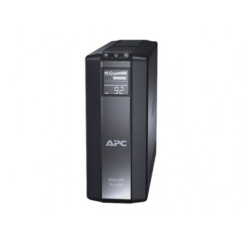 APC Back-UPS Pro 900 - UPS - AC 230 V - 540 Watt - 900 VA - USB - output connectors: 6 - Belgium, France - black