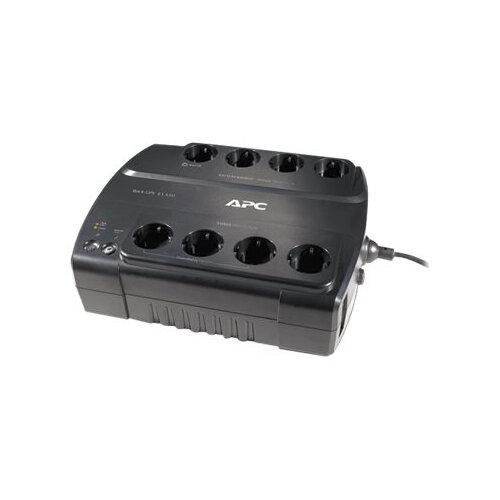 APC Back-UPS ES 550 - UPS - AC 230 V - 330 Watt - 550 VA - output connectors: 8 - black