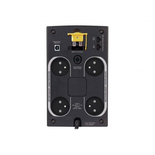 APC Back-UPS 950VA - UPS - AC 230 V - 480 Watt - 950 VA - USB - output connectors: 4 - black